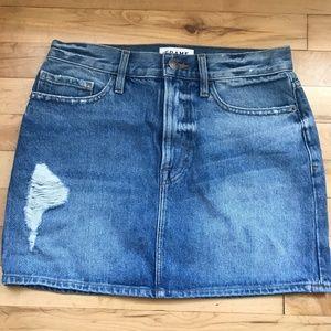 FRAME Jean mini Skirt
